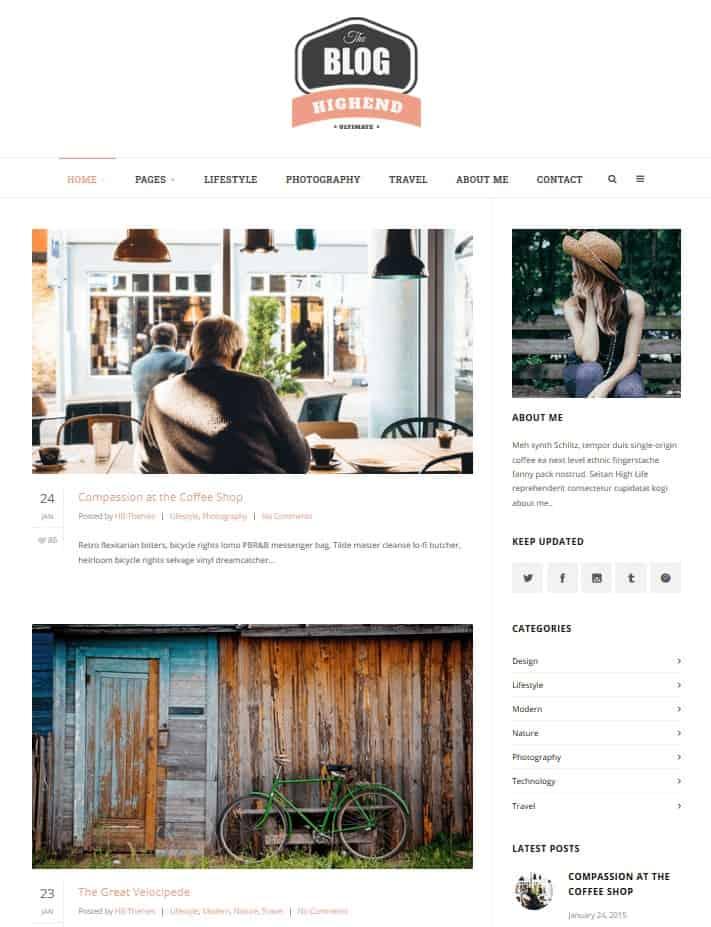 Highend Blog Review