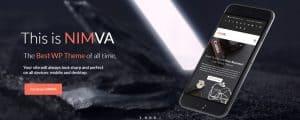 Nimva theme design example