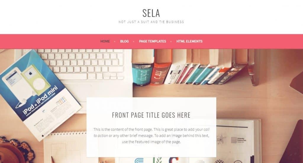 Sela Theme Review