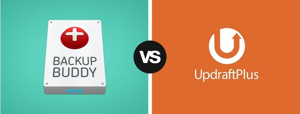BackupBuddy Vs UpdraftPlus head to head comparison of similarities and differences