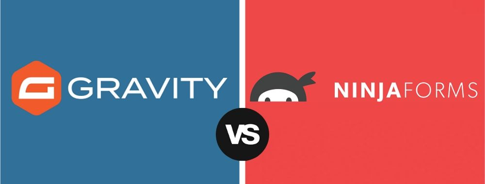 Gravity Forms vs Ninja Forms similarities and differences comparison