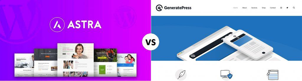 Astra Vs. GeneratePress