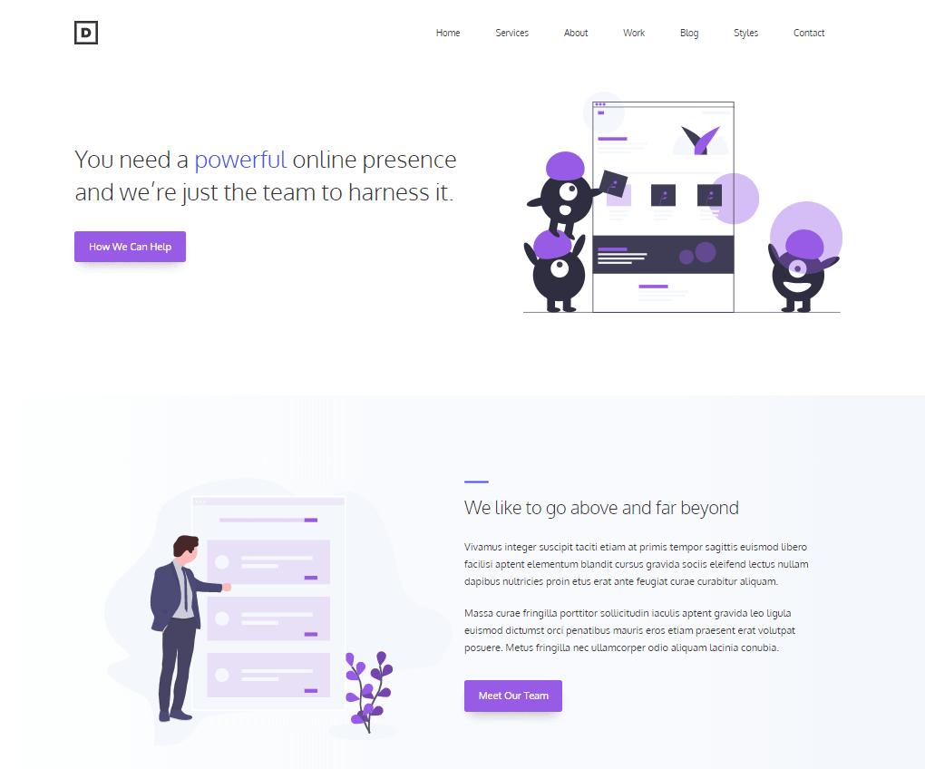 GeneratePress-Dev-Template