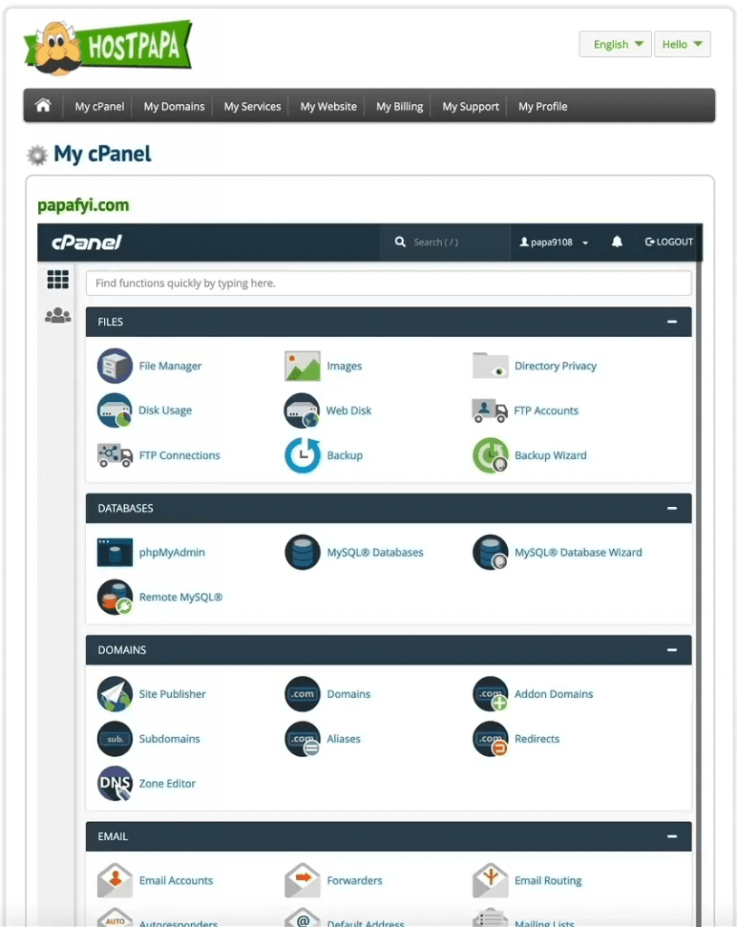 Lunarpages-cPanel